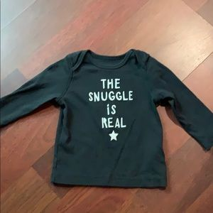 The Snuggle Is Real long sleeve